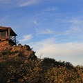 Gardner Fire Lookout on top of East Peak.- East Peak