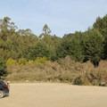 Parking at Palomarin Trailhead.- Palomarin Hike to Bass Lake