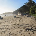 A relaxing day at Bolinas Beach.- Bolinas Beach