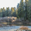 The Smith River is a National Wild and Scenic River.- Jedediah Smith Campground