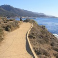 Sand Hill Trail in Point Lobos State Natural Reserve.- Point Lobos State Natural Reserve