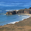 The Bluff Trail follows the bluff tops above Andrew Molera State Beach.- Headlands to Creamery Meadow Loop