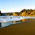 Trinidad State Beach.- Trinidad State Beach