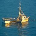 A fishing boat in Trinidad Harbor.- Trinidad Head Loop