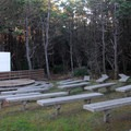 Amphitheater in Grayland Beach State Park Campground.- Grayland Beach State Park Campground