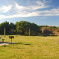 Day use area in Twin Harbors State Park.- Twin Harbors State Park