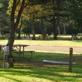 RV area in Twin Harbors State Park Campground.- Twin Harbors State Park Campground