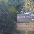 Alamere Falls turn-off.- Palomarin Hike to Alamere Falls