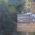 Alamere Falls turn-off.- Palomarin Hike to Alamere Falls