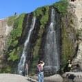 Alamere Falls.- Palomarin Hike to Alamere Falls