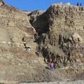 Scramble down to the beach.- Palomarin Hike to Alamere Falls