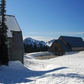 Jackson Visitor Center and Climbers Center.- Paradise Snowplay Sledding Area