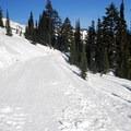 Edith Creek Basin Trail.- Edith Creek Basin Snowshoe