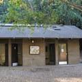Campground restrooms.- Pfeiffer Big Sur State Park Campground