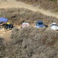 Ocean campsite in Limekiln State Park Campground.- Limekiln State Park Campground