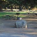 Plaskett Creek Campground.- Plaskett Creek Campground