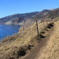 Bluff Top Trail in Kirk Creek Campground.- Kirk Creek Campground