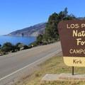 Kirk Creek offers oceanside camping off scenic Highway 1.- Kirk Creek Campground