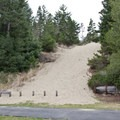 Direct access to some of the nearby dunes can be had from D loop.- Sutton Campground