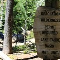 Permits are required for backpacking in the area.- Lake Aloha