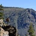 Viewpoint over the Desolation Wilderness.- Lake Aloha