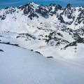 Earned turns.- Royal Basin Backcountry Ski Tour