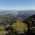 Clear days offer panoramic views of the Bay and Pacific Ocean from East Peak.- East Peak