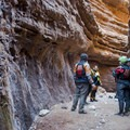 Blacktail Canyon offers incredible acoustics due the natural baffles in the canyon walls.- The Grand Canyon of the Colorado River