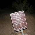 The Skyline Ridge Trail marks the beginning of the route.- Cactus to Clouds Skyline Trail Hike