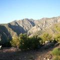 Looking into the San Bernadino Wilderness.- Cactus to Clouds Skyline Trail Hike
