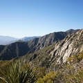 Potential bouldering and climbing along the route.- Cactus to Clouds Skyline Trail Hike