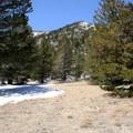 San Jacinto Peak (10,834') is in view. - Cactus to Clouds Skyline Trail Hike