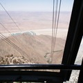 The well earned tram ride down.- Cactus to Clouds Skyline Trail Hike