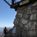 The Gardner Fire Lookout sits on top of East Peak (2,571'). - East Peak via Hogback + Fern Creek Trail