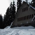 Skier cabin on the way to Skyline Lake.- Skyline Lake