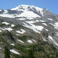Mount Adams (12,281') from the Hellroaring Viewpoint.- Round the Mountain Trail