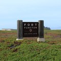 The main entrance to Fort Funston.- Fort Funston