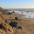 Muir Beach, south end.- Muir Beach