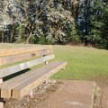 Take a seat on one of many benches in the meadows.- Chip Ross Park
