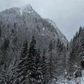 First mountainous viewpoint.- Kelcema Lake