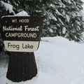 Frog Lake Snowshoe.- Frog Lake