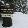Frog Lake Snowshoe.- Frog Lake