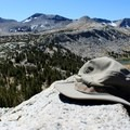 The highest point of the trek.- Tuolumne Meadows to Yosemite Valley via Vogelsang Camp