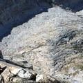 Views from the top of Vogelsang Peak.- Vogelsang Peak