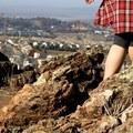 Hiking in Blue Rock Springs Park.- Blue Rock Springs Park