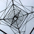 Power tower in Deer Island Open Space Preserve.- Deer Island Open Space Preserve