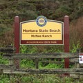 Montara Mountain Trailhead and Gray Whale Cove Parking.- Gray Whale Cove State Beach