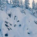 Skiing at Grace Lakes.- Grace Lakes