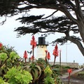 Point Montara Lighthouse Hostel and gardens.- Point Montara Lighthouse Hostel