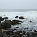 Rocks of Montara Point.- Point Montara Lighthouse Hostel